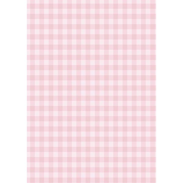 背景画像 ピンク色のチェック柄(カラー)