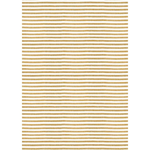 背景画像 太めのボーダー柄のテクスチャ(白×黄)(カラー)