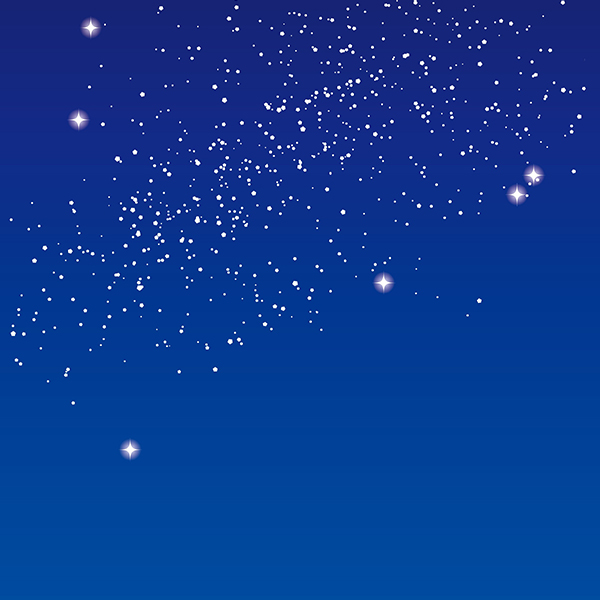 背景画像 夜空(星空)(カラー)
