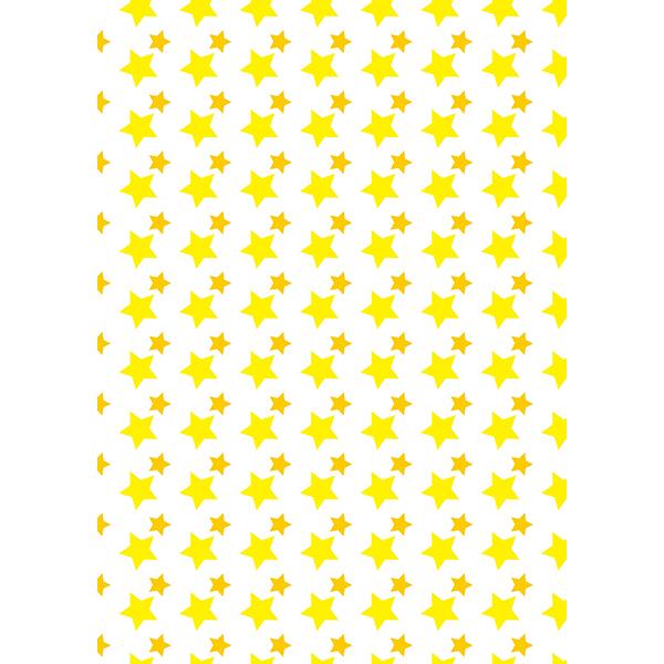 背景画像 星柄(白×黄)(カラー)