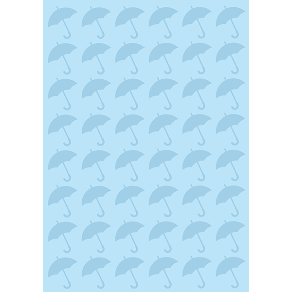 背景画像 傘模様(カラー)