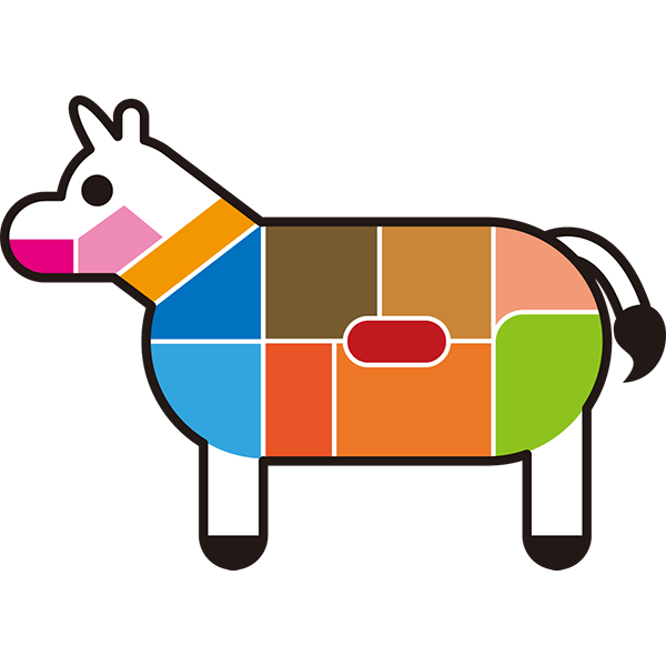 食品 肉の部位(牛)(カラー)