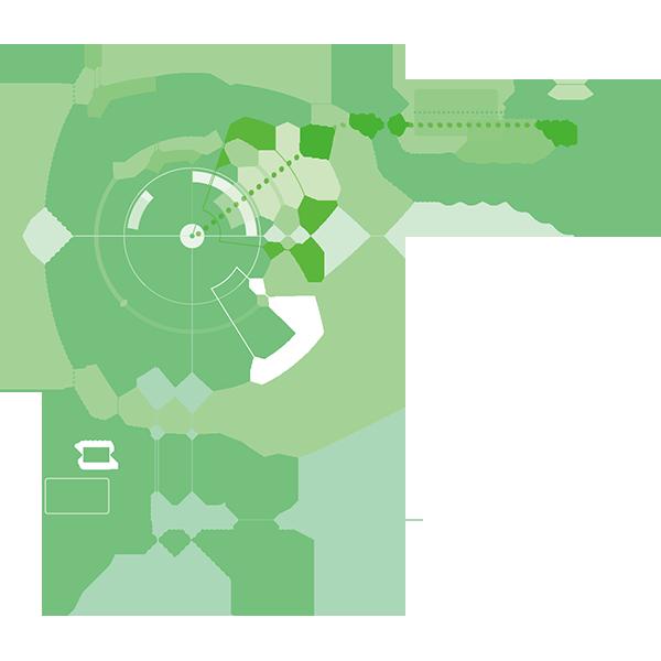 ビジネス IT・デジタルイメージ2(グリーン)(カラー)