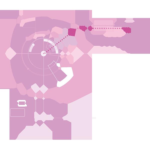 ビジネス IT・デジタルイメージ2(ピンク)(カラー)