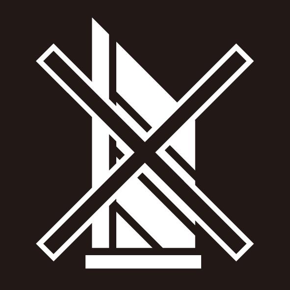 ビジネス カッター厳禁シール(モノクロ)