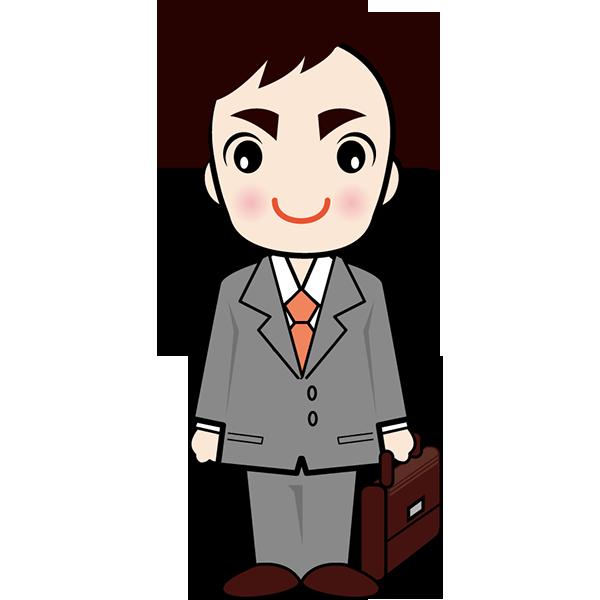 人物 サラリーマン(男性・会社員)(カラー)