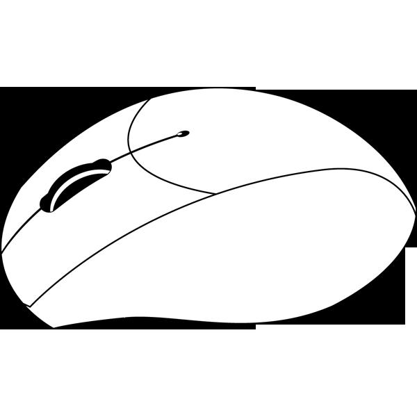 ビジネス ワイヤレスマウス(モノクロ)