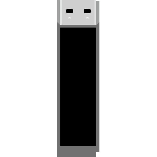 ビジネス USBメモリ(黒)(カラー)