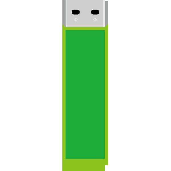 ビジネス USBメモリ(緑)(カラー)
