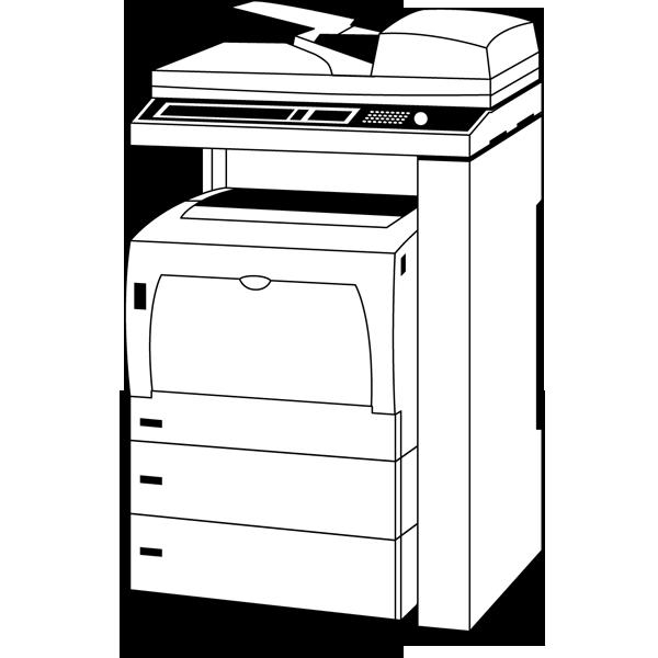 ビジネス コピー機(複合プリンター)(モノクロ)
