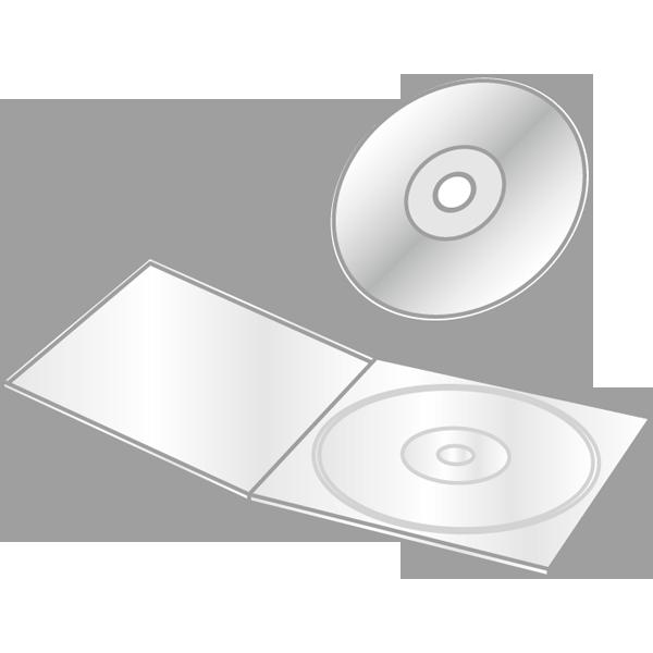 ビジネス CD・DVD(CD・DVDケース)(カラー)