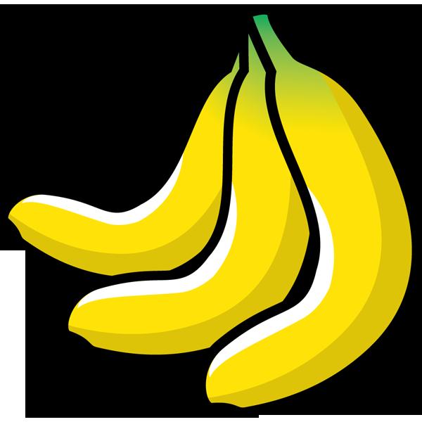 食品 バナナ(カラー)