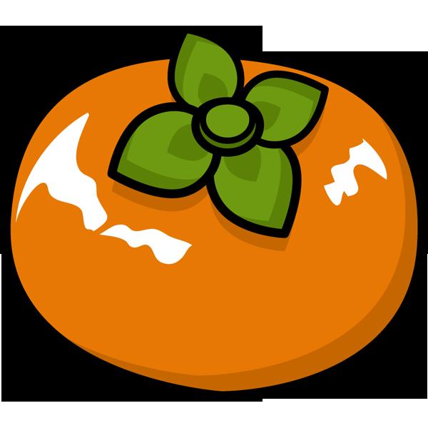 食品 柿(カキ)(カラー)