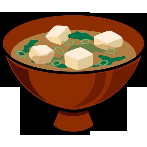 食品 味噌汁(みそ汁)(カラー)