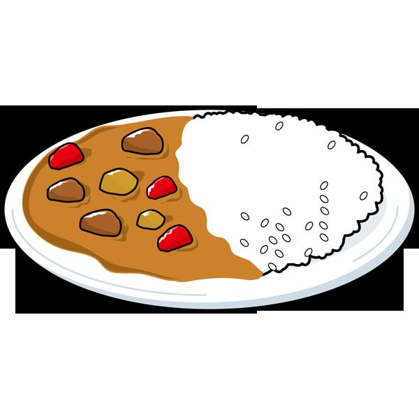 食品 カレーライス(カラー)