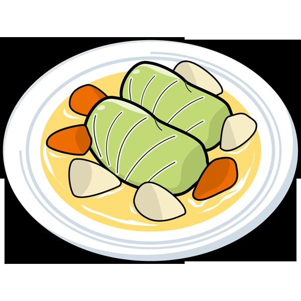食品 ロールキャベツ(カラー)