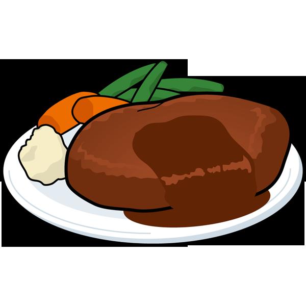 食品 ハンバーグ(カラー)