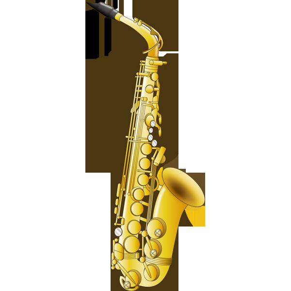 音楽 サックス(カラー)