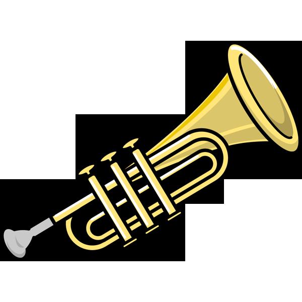 音楽 トランペット(カラー)