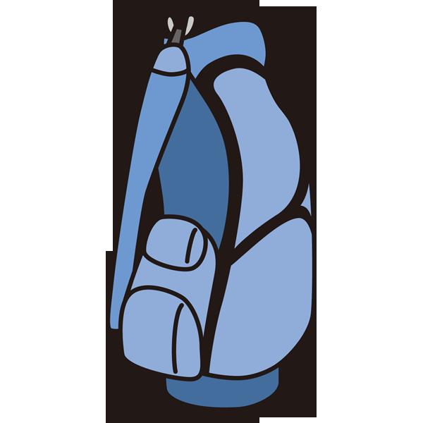 ゴルフ ゴルフバッグ(カラー)