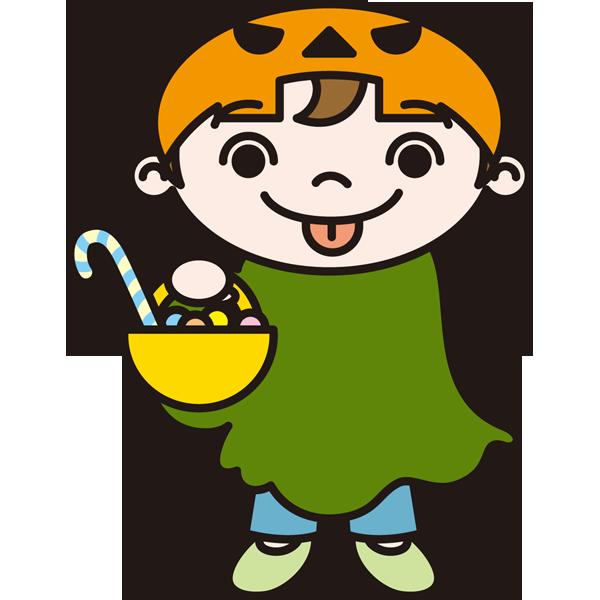 年中行事 子供(お菓子)(カラー)