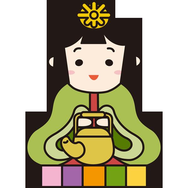 年中行事 雛人形(お雛さま)(カラー)