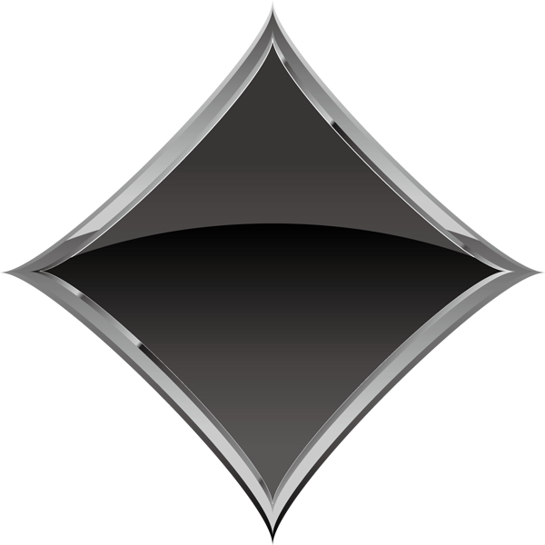 装飾 ダイヤ(黒いダイヤマーク)(カラー)