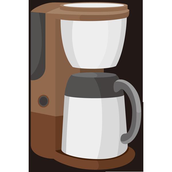 家庭・生活 コーヒーメーカー(カラー)