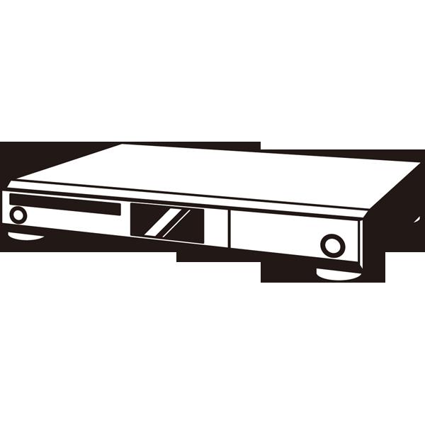 家庭・生活 DVDレコーダー(モノクロ)