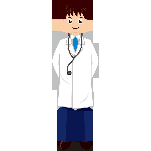 医療 医者(ドクター)(カラー)