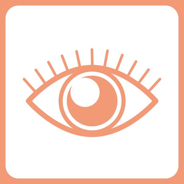 医療 眼科アイコン(カラー)