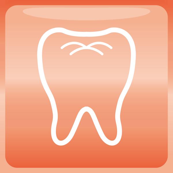 医療 歯科アイコン(カラー)