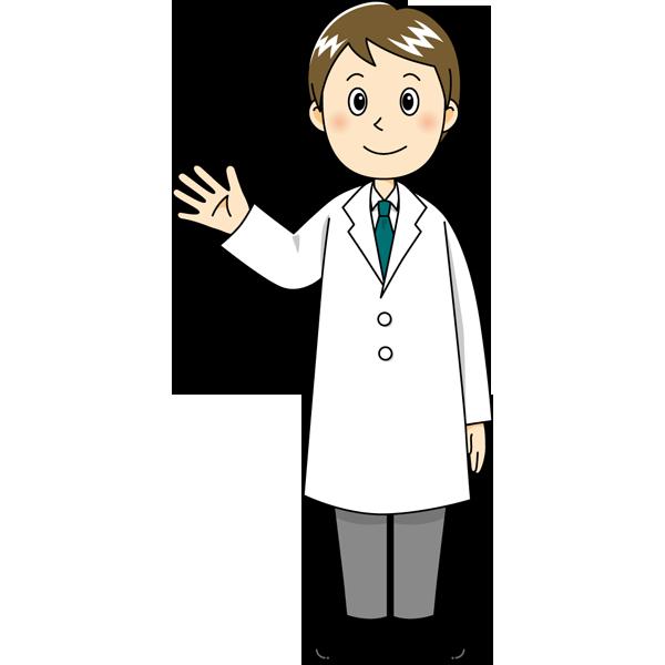 医療 医者(ドクター・男の人)(カラー)