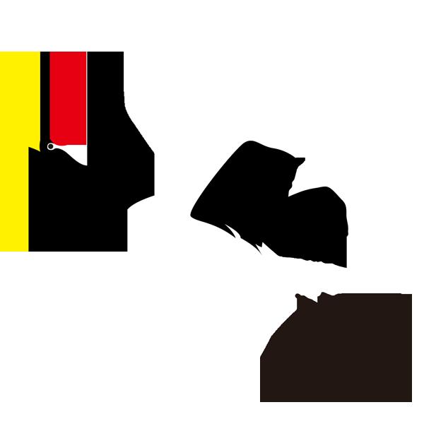 動物 鶴(つる)(カラー)