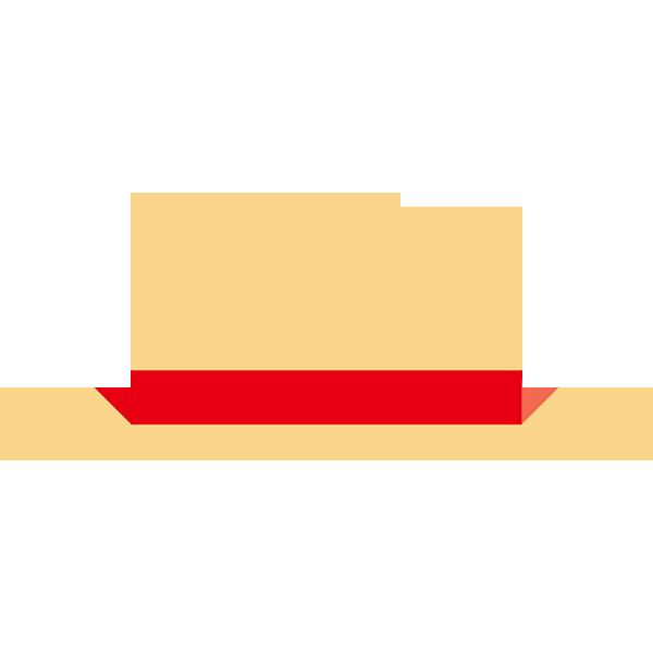 帽子(麦わら帽子)(カラー)