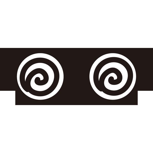 メガネ(うずまきメガネ)(カラー)