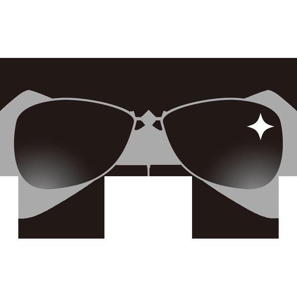 メガネ(ワイルドなサングラス)(カラー)