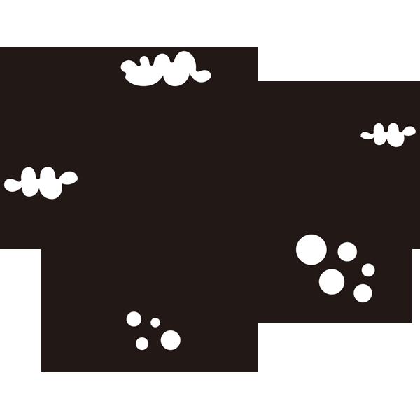自然 山(電波塔)(モノクロ)