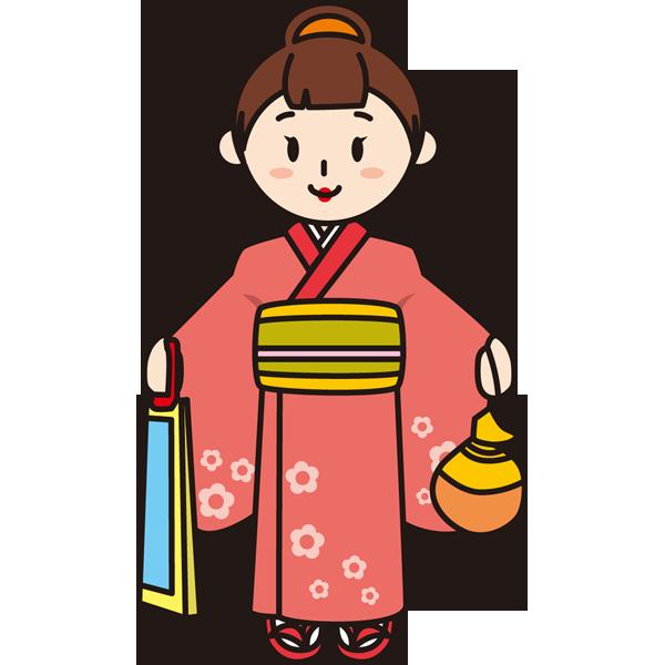 年中行事 七五三(女の子)(カラー)