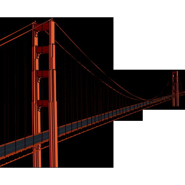社会 ゴールデンゲートブリッジ(アメリカ合衆国)(カラー)