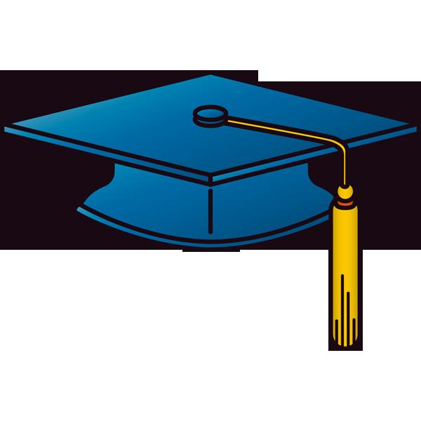 年中行事 卒業式の帽子(カラー)