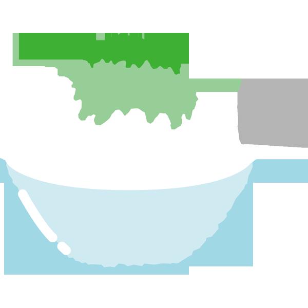 年中行事 かき氷(メロン味・緑色)(カラー)
