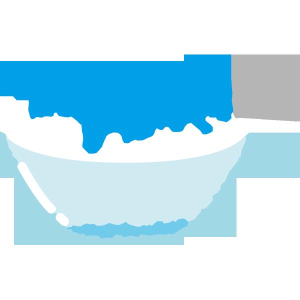年中行事 かき氷(ブルーハワイ味・青色)(カラー)