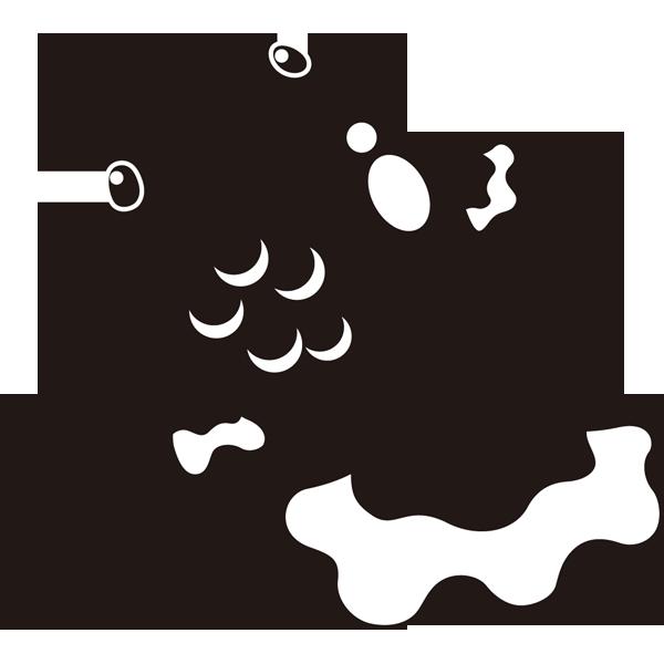 年中行事 金魚(モノクロ)
