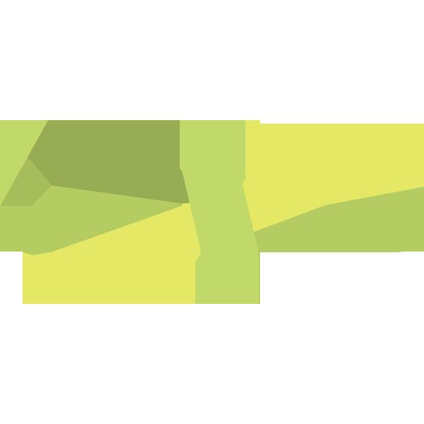 装飾 リボン(緑色)(カラー)