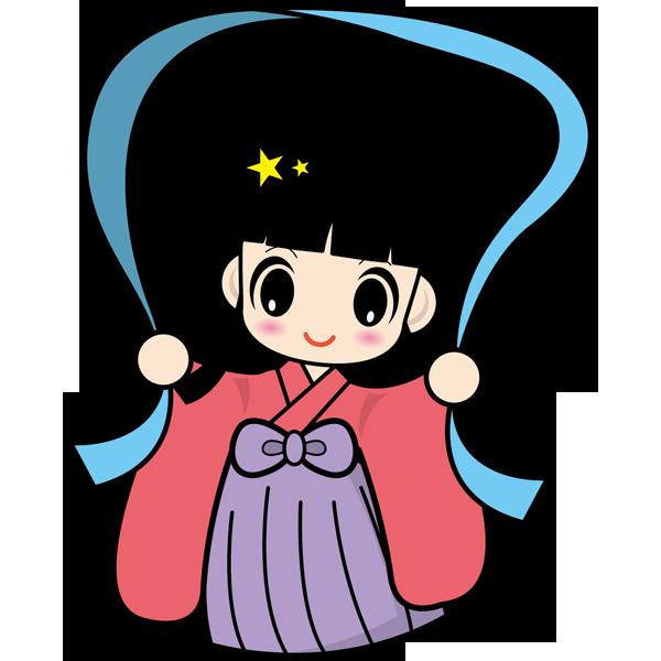 年中行事 織り姫(カラー)