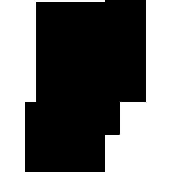 ビジネス クリップ(モノクロ)