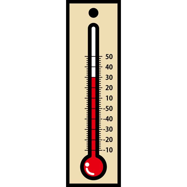 学校 温度計(カラー)