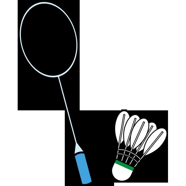 スポーツ バドミントン(ラケット・シャトル)(カラー)