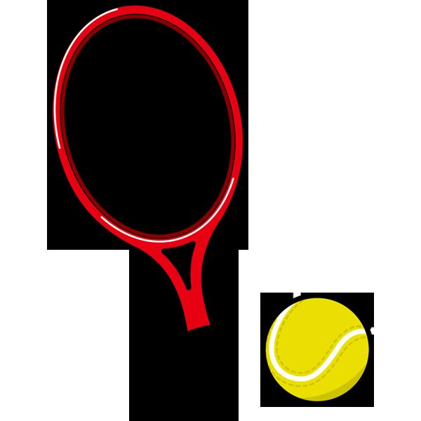 スポーツ テニス(ラケット・ボール)(カラー)